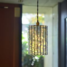Moon Drops Lamp 1 雪花(ペンダントタイプ M)|照明(ライト)・ランプ|Moon Drops|ハンドメイド通販・販売のCreema