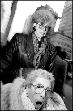 New York City by Bruce Gilden, 1990