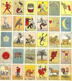 Loteria , Spanish word for Lottery, is a game of chance in Mexico dating back to the the 18th century from Spain. It is very similar to Bing...