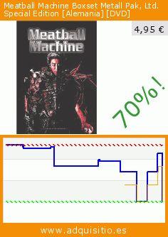 Meatball Machine Boxset Metall Pak, Ltd. Special Edition [Alemania] [DVD] (DVD). Baja 70%! Precio actual 4,95 €, el precio anterior fue de 16,33 €. http://www.adquisitio.es/ascot-elite-home/meatball-machine-metal