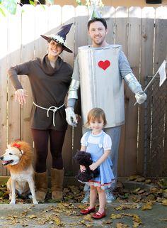 DIY Family Wizard of Oz Costume