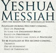Thank You my Adonai Yeshua HaMashiach (my Lord Jesus Christ) 4 Your love, life, & selfless sacrifice! Bible Scriptures, Bible Quotes, Leviticus 23, Feasts Of The Lord, Holy Spirit Come, Feast Of Tabernacles, Messianic Judaism, Names Of God, Bible Knowledge