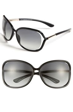 caf6bd49b3d Tom Ford  Raquel  63mm Oversized Open Side Sunglasses