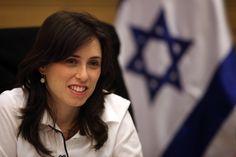 Tzipi Hotovely en la Knesset.  (Abir Sultan / Flash 90)