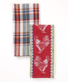 Country Kitchen Dish Towel Set