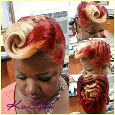Kia Stylez- the color throws me but its still a bomb ass 'do!