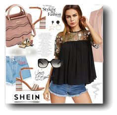"""SheIn"" by snezanamilunovic ❤ liked on Polyvore featuring Forte Couture, River Island, Dolce&Gabbana, Gucci and LIST"