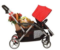Contours Options LT Tandem Stroller, Crimson Red  - Click image twice for more info - See a larger selection of baby single strollers  at http://zbabyproducts.com/product-category/single-strollers/ -baby,kids, infant, nursery, kid, child, toddler, baby outdoor gear, baby gift ideas,baby products