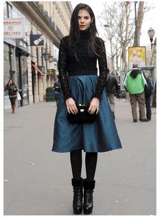 Look de fête à Paris - STREET STYLE - tendance et mode de la rue