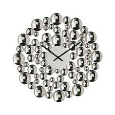 Bubble Wall Clock on Designs Next  http://www.designsnext.com/10-beautiful-crystal-wall-clock-designs/