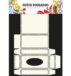 470.713.034 Dutch Doobadoo Dutch Box Art Tissuebox