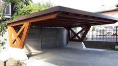 Carport Sheds, Pergola Carport, Outdoor Pergola, Car Porch Design, Garage Design, Timber Frame Garage, Outdoor Pavillion, Wooden Carports, Modern Carport
