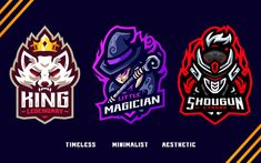 What Is Social, Esports Logo, Media Kit, Logo Design Services, Business Branding, The Magicians, Gaming, Cartoon, Create
