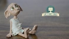 How to make the house Elf Dobby from the Harry Potter movies. For this I used modelling paste / gum paste but you could also use polymer clay / fimo if it do...