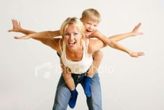 Mother and son photo idea
