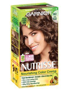 Elegant Dark Brown Hair Color Garnier