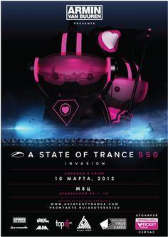 #ASOT 550 Day 3: LIVE fromKiev (Ukraine) – A State Of Trance 550  with Armin Van Buuren [March 10 2012]
