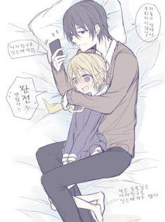 작은 동물같은 그녀.manga : 네이버 블로그 Anime Couple Kiss, Manga Couple, Anime Kiss, Cute Anime Couples, Anime Manga, Anime Art, Witch Characters, Anime Characters, Yandere Boy