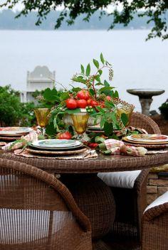 Al Fresco outdoor table
