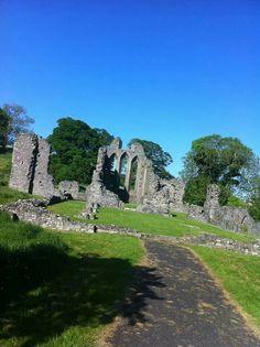 St Patricks Trail, Inch Abbey, Co.Down, Northern Ireland