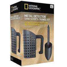 Trowel and Sifter Tool Set Indispensable Metal Detecting Tool Treasure Hunting  #NationalGeographic