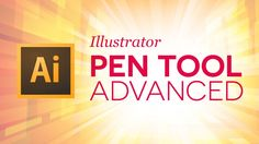 Illustrator Tutorials Series: A look at some of the advanced shortcuts and features of the Pen Tool. Knowing these will save you time and make your work easi...