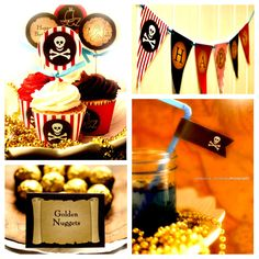 Pirate Party  PRINTABLE Full Party Pack diy  by mypartydesign, $26.00