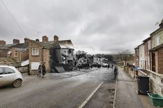 Blitz Ghost - Junction Road, Norwich. Junction Road, Ghost Images, Norwich Norfolk, Ghosts, Ww2, England, Street View, Park, Pictures