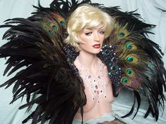 PEACOCK EXOTIC Showgirl Backpack