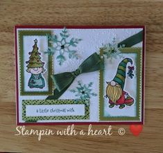 Owl Punch, Punch Art, Stampin Up Christmas, Christmas Tag, Winter Cards, Holiday Cards, Handmade Birthday Cards, Handmade Cards, Heartfelt Creations