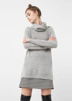 Sweter z golfem | MANGO