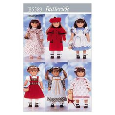 18 (46cm) Doll Clothes-One Size Only Pattern at Joann.com