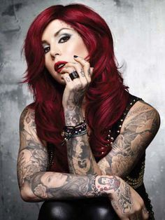 Kat Von D i love this hair colour, do you think i could pull this off?