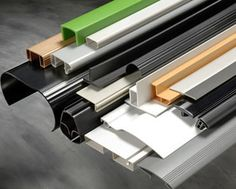 Plastic Extrusions are generally recognised by them being long channels or tubes of a constant profile or cross section.