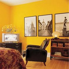 Color amarillo en decoración - DecoraHOY                                                                                                                                                      Más