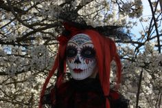 marionette Catrina titere puppet ooak by Etceteramarionetas, $400.00