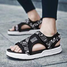 fe6b551e7ef4ff LAOCHRA Men Summer Beach Sandals Design Fashion Shoes For Male Outdoor  Flats Sneakers Men Alpargatas Big