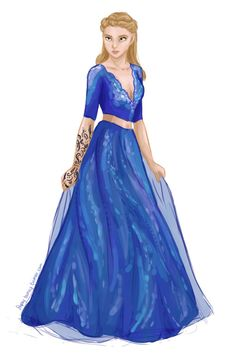 Feyre - the hair and face is not quite right, but else beautiful