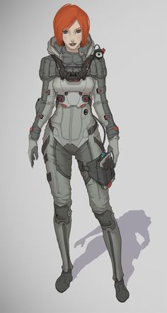Imagen para o projeto - Final Fantasy: The Spirits Within Cyberpunk, Character Concept, Character Art, Concept Art, Character Design Cartoon, Character Design References, Medieval Combat, Girls Manga, Design Alien