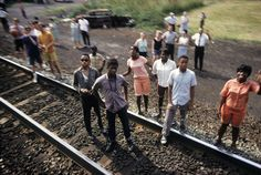 Paul Fusco - Robert Kennedy funeral train