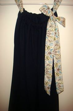 """adult """"pillowcase"""" dress. must make before the cruise!"""