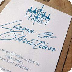 Einladungskarte Vintage, Einladung Für Hochzeit, Individuell Designed By  Die Kartenfrau