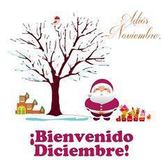 Adiós Noviembre, ¡Bienvenido Diciembre!  | Banco de Imágenes Adiós Noviembre, ¡Bienvenido Diciembre!          |          Banco de Imágenes