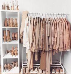 Wardrobe closet, walk in closet, pink closet, pink wardrobe, wardrobe ideas