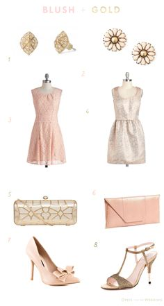 Blush and Gold inspiration