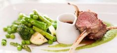 Fitzrovia - St Kilda: Grilled Dorper lamb with asparagus and broad beans