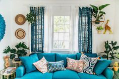 I'm a big big fan of color and have serious color doses all over my home, studio and patio! I'm a firm believer that color can directly effect and change your mood (for the better!). Create the vibe you...