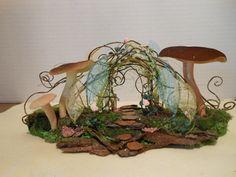 Fairy Garden Pathway Path Fairies Arbor Arch by NewberryThicket, $45.00