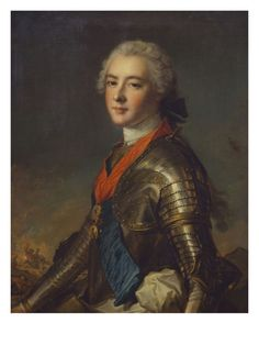 Louis Jean Marie de Bourbon,Duke of Penthièvre:1725-1793 He was the grandson of Louis XIV and his mistress Madame de Montespan. He was rumoured to be the richest man in France and was well known for his philanthropy. He was a beloved figure because of his generosity and was never targeted during the Revolution. His daughter in law was the unfortunate princess de Lamballe.