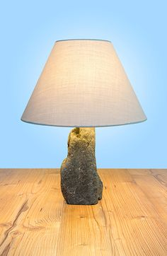 Table Lamp, Lighting, Design, Home Decor, Wood Stone, Light Fixtures, Nature, Table Lamps, Decoration Home